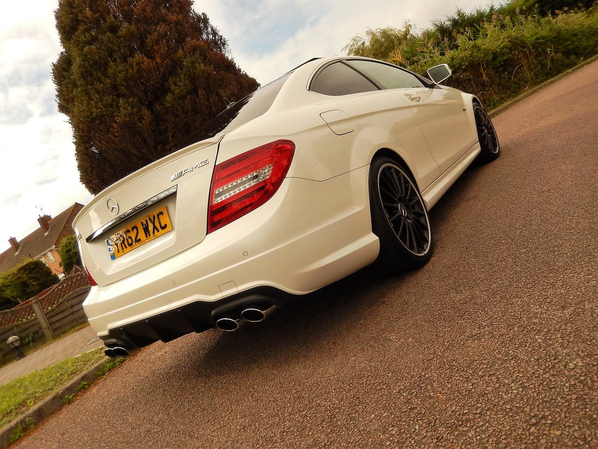 2012 C63 AMG COUPE -- genuine low mileage example  SOLD (picture 3 of 6)