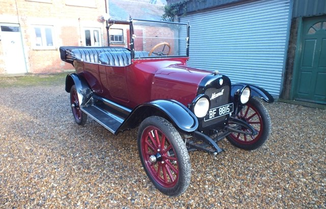 1917 An attractive Maxwell four/five seat touring car For Sale (picture 1 of 8)