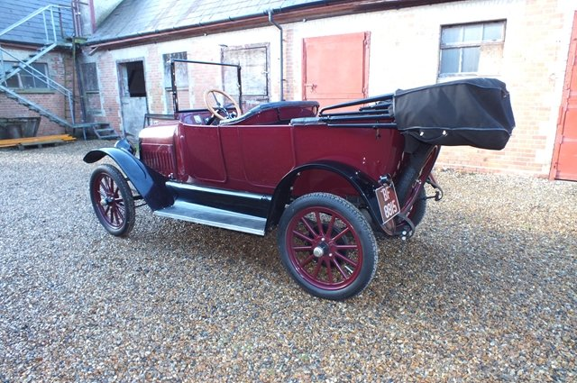1917 An attractive Maxwell four/five seat touring car For Sale (picture 3 of 8)