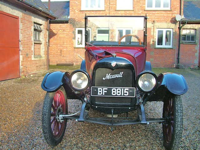 1917 An attractive Maxwell four/five seat touring car For Sale (picture 4 of 8)