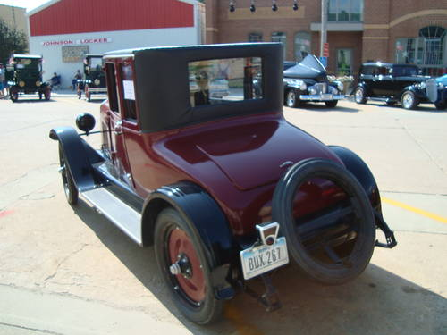 1923 Maxwell 2DR Doctors Coupe For Sale (picture 3 of 6)