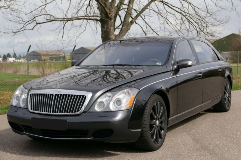 2005 Maybach 62 V12 mit Trennwand For Sale (picture 1 of 6)