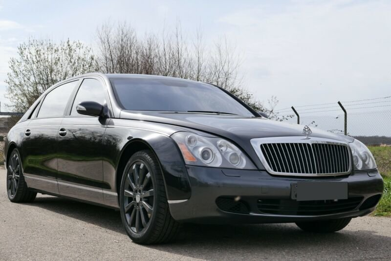 2005 Maybach 62 V12 mit Trennwand For Sale (picture 2 of 6)