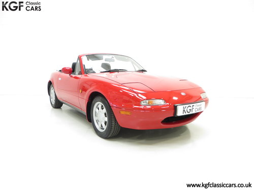 1996 Probably the Best UK Mk1 Mazda MX5 1.8i with 20,342 Miles SOLD (picture 1 of 6)
