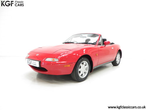 1996 Probably the Best UK Mk1 Mazda MX5 1.8i with 20,342 Miles SOLD (picture 2 of 6)