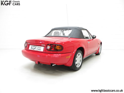 1996 Probably the Best UK Mk1 Mazda MX5 1.8i with 20,342 Miles SOLD (picture 5 of 6)
