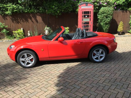 2006 Mazda MX5 Convertible For Sale (picture 1 of 6)