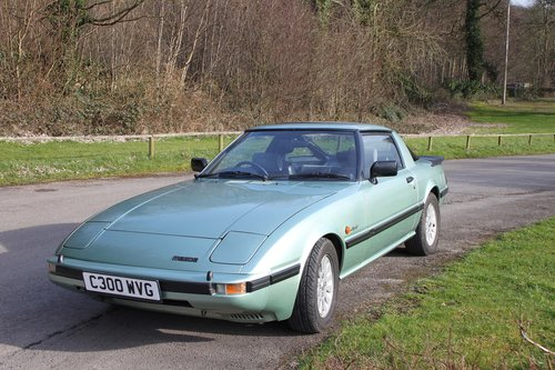 1985 Mazda RX-7 Gen 1 in superb condition. SOLD (picture 1 of 6)