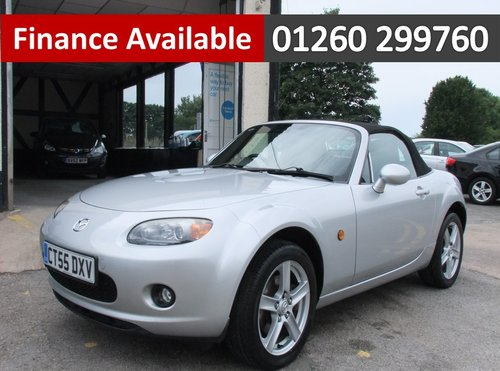 2005 MAZDA MX-5 1.8 I 2DR, 2 Door Convertible SOLD (picture 1 of 6)