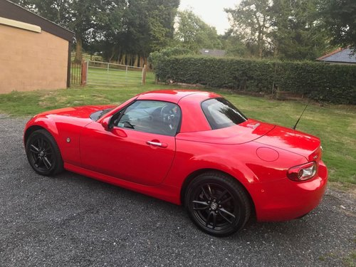 2009 '59' MAZDA MX5 1.8 SE ROADSTER COUPE RED 45K STUNNING! SOLD (picture 3 of 6)