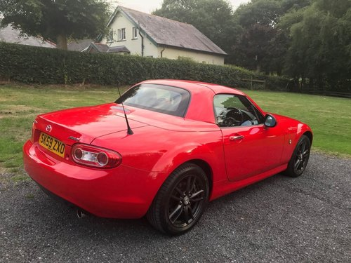 2009 '59' MAZDA MX5 1.8 SE ROADSTER COUPE RED 45K STUNNING! SOLD (picture 4 of 6)