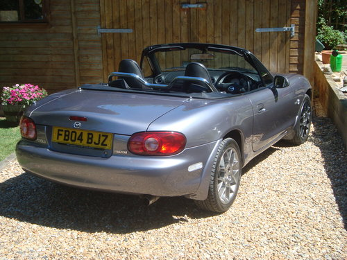2004 Mazda MX5 1.8i Euphonic, 15295 miles from new. For Sale (picture 4 of 6)