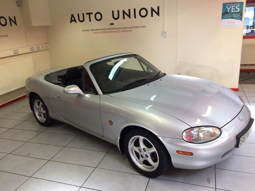 1998 MAZDA MX5 S 1.8i For Sale (picture 1 of 6)