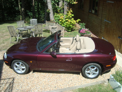 2000 Mazda MX5 1.8i Icon  41000 miles from new For Sale (picture 2 of 6)
