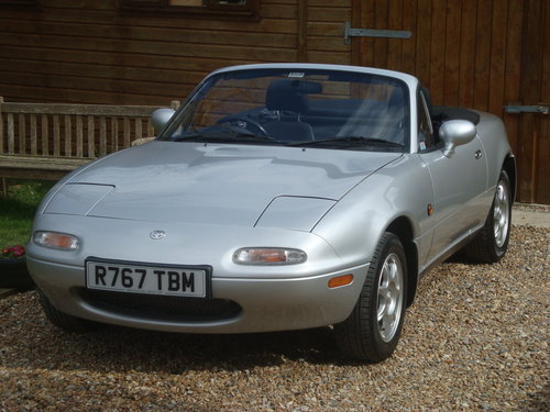 1997 Mazda MX5 Mk1 1.8is 45000 miles from new. SOLD (picture 1 of 6)
