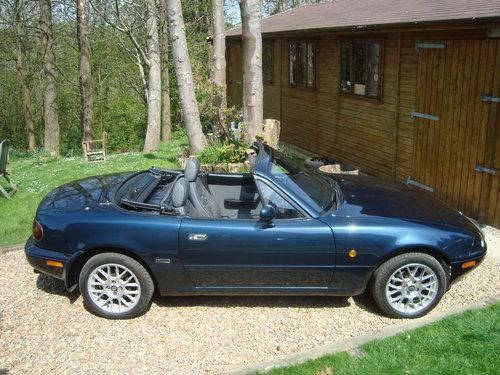1997 Mazda MX5 Mk1 !.8i Dakar.47,700 miles.  For Sale (picture 2 of 6)
