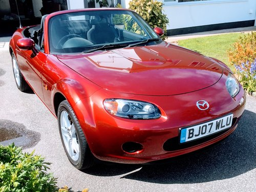 2007 Above average Mazda MX5 2ltr SOLD (picture 1 of 5)