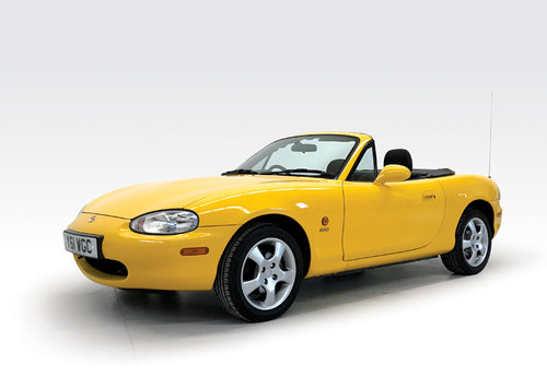 2001 Mazda MX-5 California one owner low miles SOLD (picture 1 of 6)
