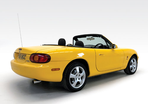 2001 Mazda MX-5 California one owner low miles SOLD (picture 2 of 6)