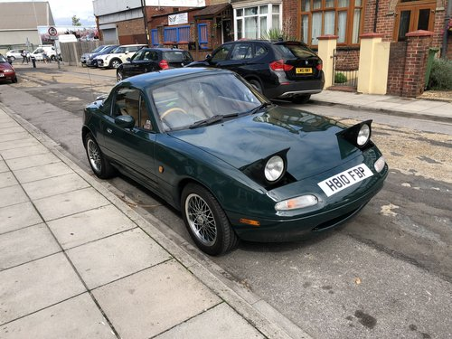1991 Mazda MX5 Limited Edition BRG No.45 For Sale (picture 2 of 6)