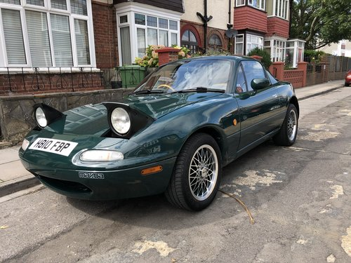 1991 Mazda MX5 Limited Edition BRG No.45 For Sale (picture 4 of 6)