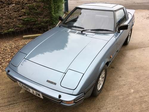 1986 Mazda RX7 2 at Morris Leslie Auction 24th November SOLD by Auction (picture 1 of 6)
