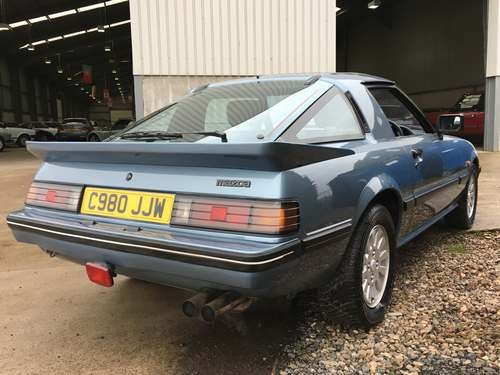 1986 Mazda RX7 2 at Morris Leslie Auction 24th November SOLD by Auction (picture 2 of 6)