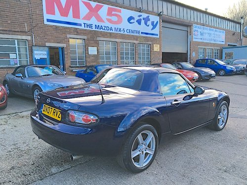 2007 Mazda MX-5 Mk3 1.8 RHT Roadster Coupé in Stormy Blue SOLD (picture 2 of 6)
