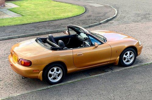 1998 Mazda MX5 1.6 Automatic rare For Sale (picture 5 of 6)