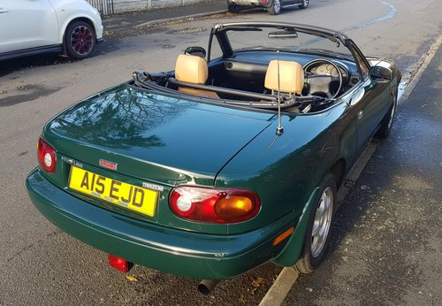1996 1 lady owner Mazda MX5 1.8 iS only 27k miles.  SOLD (picture 3 of 6)