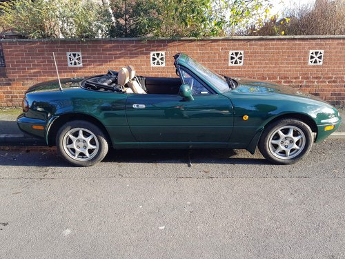 1996 1 lady owner Mazda MX5 1.8 iS only 27k miles.  SOLD (picture 4 of 6)