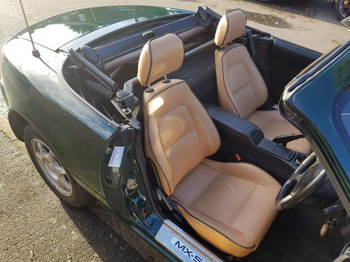 1996 1 lady owner Mazda MX5 1.8 iS only 27k miles.  SOLD (picture 5 of 6)