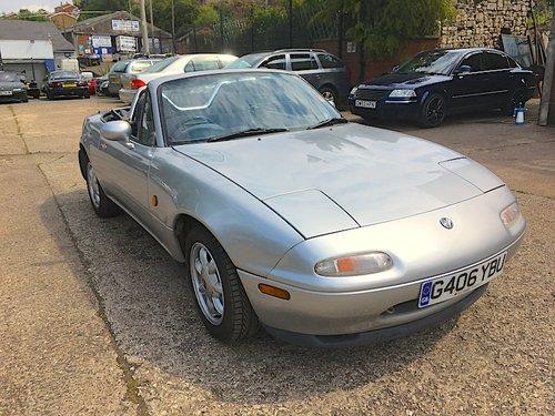 1990 Mazda Eunos Mk1 1.6 in Silver Stone For Sale (picture 1 of 6)
