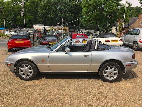 1990 Mazda Eunos Mk1 1.6 in Silver Stone For Sale (picture 4 of 6)