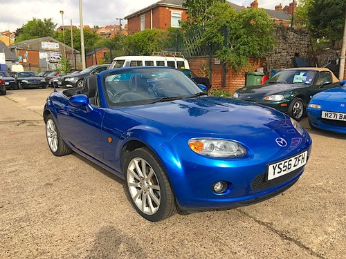 2007 Mazda MX-5 Mk3 2.0 Sport in Winning Blue Metallic SOLD (picture 1 of 6)