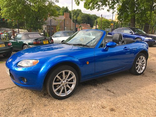 2007 Mazda MX-5 Mk3 2.0 Sport in Winning Blue Metallic SOLD (picture 2 of 6)