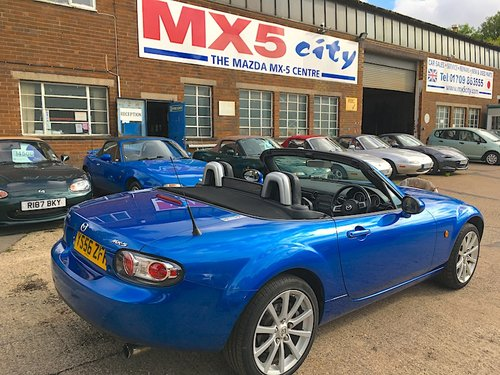 2007 Mazda MX-5 Mk3 2.0 Sport in Winning Blue Metallic SOLD (picture 3 of 6)