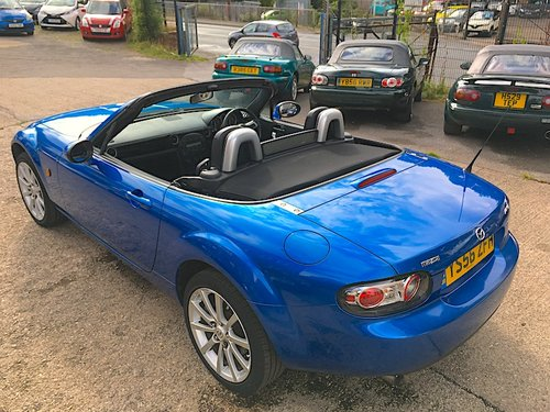 2007 Mazda MX-5 Mk3 2.0 Sport in Winning Blue Metallic SOLD (picture 4 of 6)