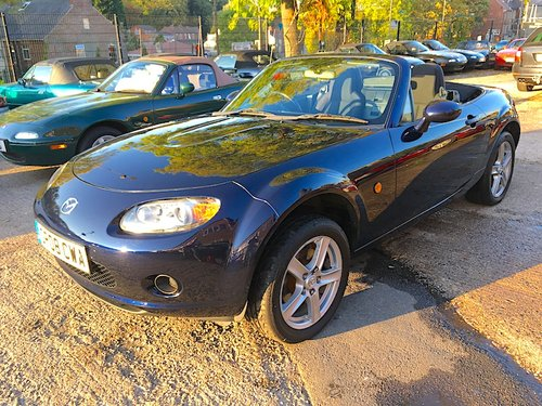 2008 Mazda MX-5 Mk3 1.8 in Stormy Blue Metallic For Sale (picture 1 of 6)