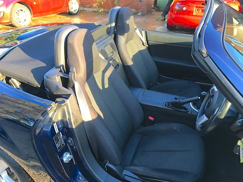 2008 Mazda MX-5 Mk3 1.8 in Stormy Blue Metallic For Sale (picture 5 of 6)