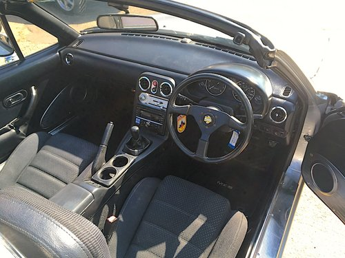 1995 Mazda Eunos Roadster Mk1 1.8 in Silver Stone For Sale (picture 5 of 6)