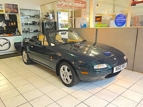 1996 Mazda MX-5 Mk1 1.8 Gleneagles Special Edition For Sale (picture 2 of 6)