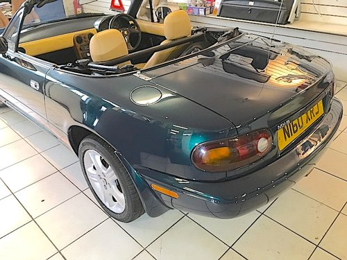 1996 Mazda MX-5 Mk1 1.8 Gleneagles Special Edition For Sale (picture 3 of 6)