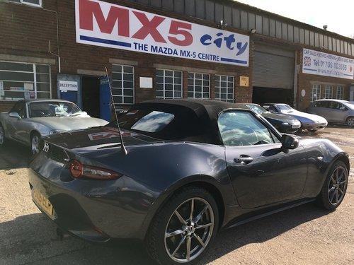2016 Mazda MX-5 Mk4 ND 2.0 Sport-Nav in Meteor Grey Mica SOLD (picture 3 of 6)