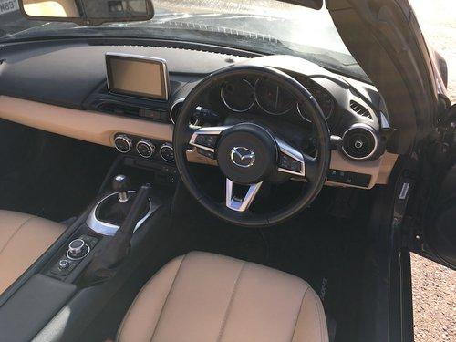 2016 Mazda MX-5 Mk4 ND 2.0 Sport-Nav in Meteor Grey Mica SOLD (picture 6 of 6)