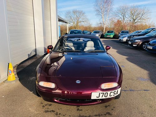 1996 Mazda MX5 Merlot Edition SOLD (picture 2 of 6)