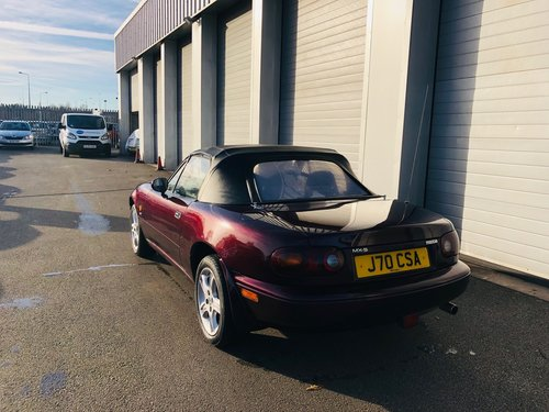 1996 Mazda MX5 Merlot Edition SOLD (picture 3 of 6)