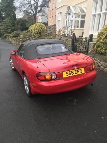 Mazda MX5 1998 1.6 litr SOLD (picture 3 of 6)