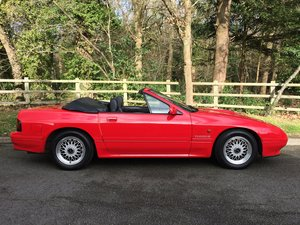 1990 MAZDA RX7 TURBO 2 CONVERTIBLE MANUAL VERY RARE For Sale