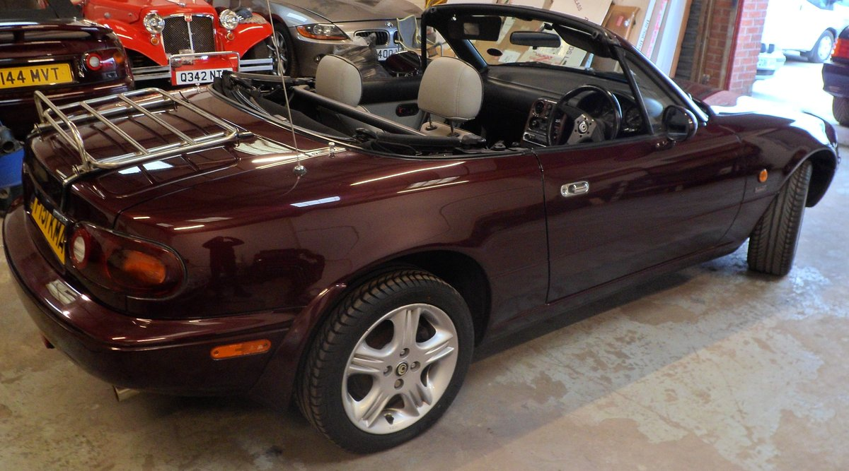 1996 Mazda MX5 Merlot 42000 miles For Sale (picture 2 of 6)